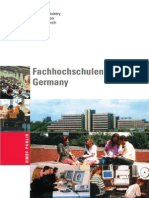 Fachhochschulen in Germany