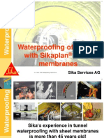 1-Waterproofing Membrane-system Tunnel MS March2013