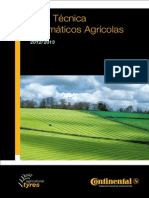Guía Técnica Neumáticos Agrícolas CONTINENTAL. 2013