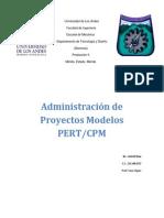 Administracion de Proyectos Modelos PERTCPM