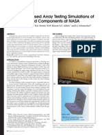 Ultrasonic Phased Array Testing of Welded Components at NASA