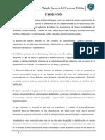 Documento Plan de Carrera Del Personal Militar FAE