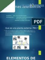 Elementos de Planta Externa (Pbx)