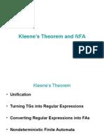 Kleens Theorem&NFA