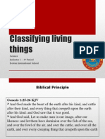 Step 5 - Science 4 Period Classifying Living Thing