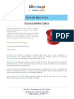 Ficha Tecnica - Sirene Interior Optica