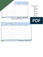 Microsoft Excel Trabajo de Maria Jose