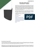 Arris TG1662G Manual de Usuario