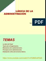 Teoria Clasica de La Administraciòn