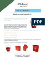 Ficha Tecnica - Balde de Areia Redondo 5L