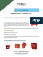 Ficha Tecnica - Balde de Areia Com Rodas 100L
