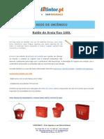 Ficha Tecnica - Balde de Areia Fixo 100L