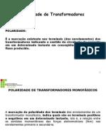 Polarização de transformadores