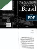 Planejamento Governamental e Democracia No Brasil
