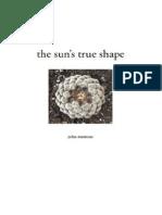 the sun's true shape