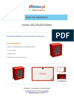 Ficha Tecnica - Caixa UEB 300x300x200mm