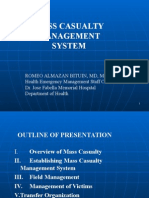Mass Casualty Management System