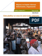 Roever Plan Street Trader Census WIEGO TB2 Espanol