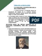 Historia de La Psicologia Escuelas (1)
