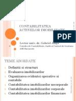 Contabilitatea activelor imobilizate