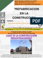 Prefabricacion en La Construccion