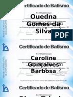 certificados Batismo.pptx