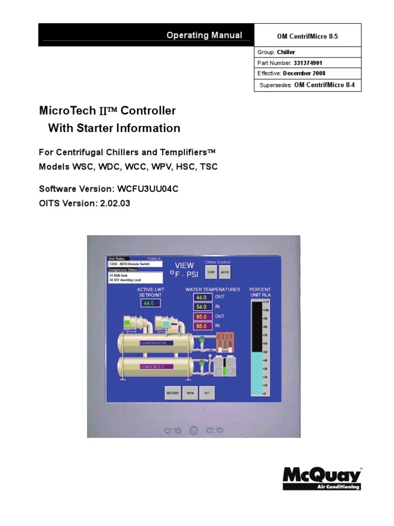Om centrifmicro ii 5 mcquay relay switch cheapraybanclubmaster Choice Image