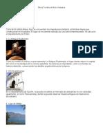 Sitios Turísticos de Guatemala Más Visitados