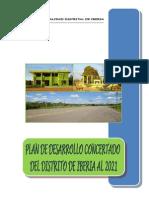 Plan de Desarrollo Concertado Del Distrito de Iberia 2010 Al 2021