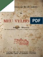 Meu Velho Rio - Augusto Maurício