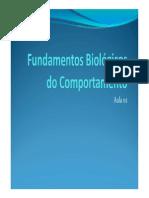 Fundamentos Biológicos do Comportamento