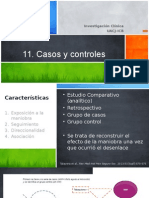 11. Estudios Casos y Controles