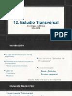 12. Encuesta Transversal