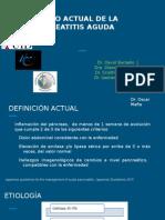 Pancreatitis Aguda - Manejo Actual