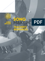 SongMakers Teachers Workbook 1.0