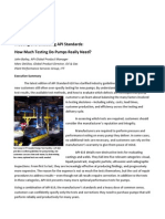 Meeting and Exceeding API Standards