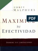 Maximice Su Efectividad Malphurs