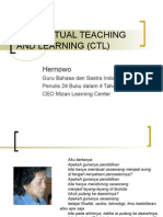 Sesi 2 Contextual Teaching and Learning (Ctl)