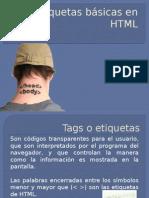 ETIQUETAS BASICAS DE HTML