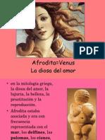Afrodita=Venus La Diosa Del Amor