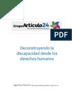 Deconstruyendo La Discapacidad Desde Los Derechos Humanos - Agustina Palacios