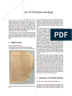 History of Christian Theology