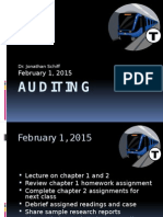 Auditing Sept 10, 2015