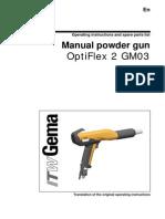 OptiFlex 2 GM03 Manual Gun Operation Manual-En-0611
