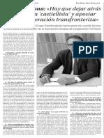 151007 La Verdad CG- Hay Que Dejar Atrás La Doctrina Castiellista y Apostar Por La Cooperación Transfronteriza p.7