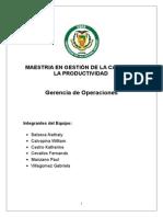 Trabajo Final Direccion de Operaciones