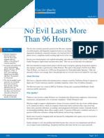 No Evil Lasts
