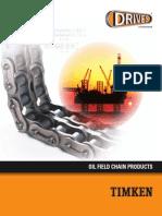 Timken Drives Oil Field Chain Catalog