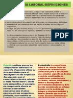 Comp Laborales vs. Prof