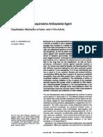Norfloxacin, A Fluoroquinolone Antibacterial Agent